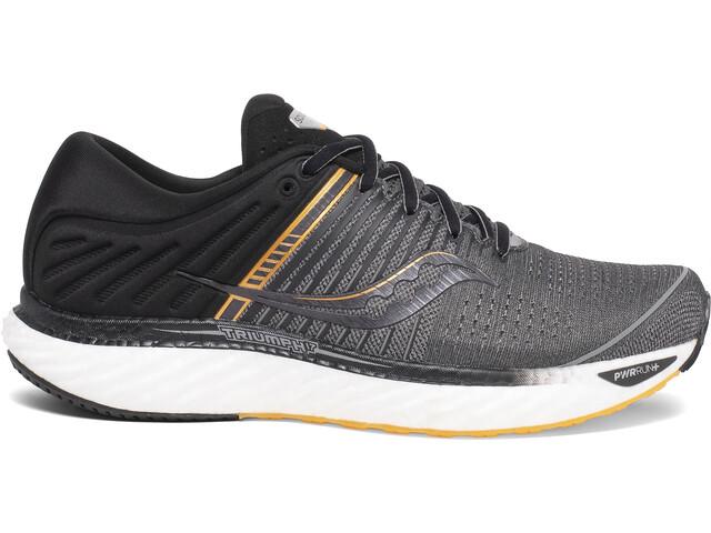 saucony Triumph 17 Schuhe Herren grey/black